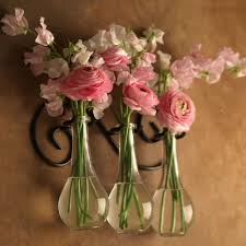 Vase Wall Sconce Hanging Flower Vases Choice Image Vases Design Picture