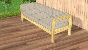 Modern Outdoor Sofa How To Make A From Pallets For Your Patio Modern Outdoor Sofa