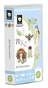 amazon com cricut art nouveau cartridge