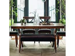 custom built dining room tables canadel east side customizable dining table with wood top becker