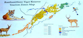 safari zone map safari zones in ranthambore national park best for tiger sighting