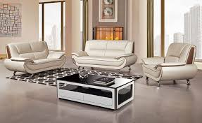Genuine Leather Sofa Sets Shania Genuine Leather Modern Sofa