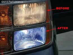 platinum blue h11 headlight bulbs recon 264h11pb