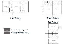 The Red Cottage Floor Plans by Virtual Tour U0026 Floor Plans The Hotel Saugatuck