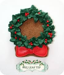 christmas wreath decorated cookies u0026 more sweetopia