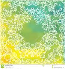 Indian Wedding Invitations Usa Lace Pattern Background With Indian Ornament Stock Image Image