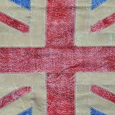 Purple Union Jack Rug Timothy Oulton Vintage Union Jack Rug