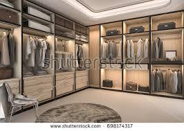 walkin closet walk in wardrobe stock images royalty free images vectors