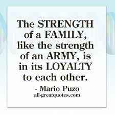 picture quotes the strength of a family like the strength of an