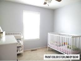 behr paint color in sterling by leann christmas baby pinterest