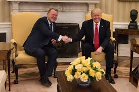 file donald trump and lars løkke rasmussen in the oval office