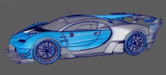 bugatti drawing bugatti vision gran turismo concept 2015 3d model max obj 3ds fbx