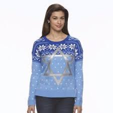 channukah sweater hanukkah sweater women s of david sequins