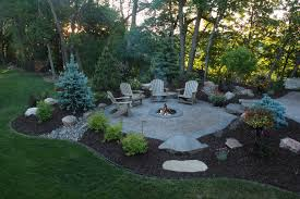 Backyard Landscaping With Fire Pit - creative fire pit designs and diy options backyard yards and