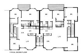 david baker architects parkview commons second floor plan