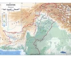 Physiographic Map Of The United States by Maps Of Pakistan Detailed Map Of Pakistan In English Tourist