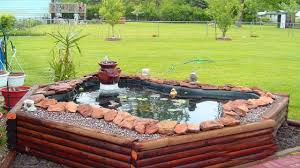 Garden Pond Ideas Stunning Above Ground Small Pond Ideas Backyard Ponds And Water