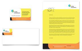 Avery Template Business Card Social Media Consultant Business Card U0026 Letterhead Template Design