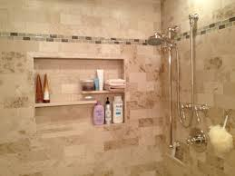 great chrome wall shower panels with shower niche for soap and explore shelving ideas shelf ideas and more