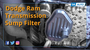 transmission for 2002 dodge ram 1500 how to install replace transmission sump filter 2002 10 4wd dodge