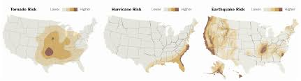 map usa place safest places from disasters