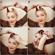 vintage pin up hair tutorial google search hair u0026 makeup