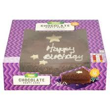 asda large chocolate birthday cake asda groceries