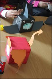 tissue box dragon shark tutorial