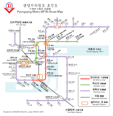 Metro Line Map by Pyongyang Metro Route Map Including Planned Lines 1383x1417