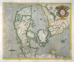 map of denmark gerardus mercator joducus hondius famsf