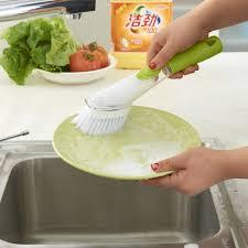 distributeur cuisine accessoires de cuisine brosse à vaisselle distributeur laveur aide