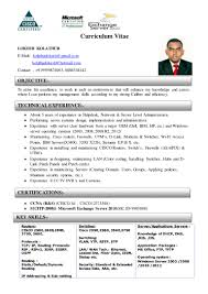 Cctv Experience Resume Lokesh Curriculum