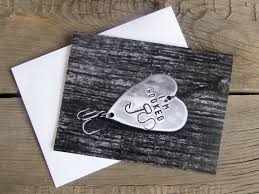 s day card i m hooked birthday cards fishing themed wedding
