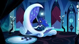 luna bed image princess luna s bedroom s5e13 png my little pony