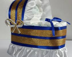 royal blue and gold baby shower decorations royal cake etsy