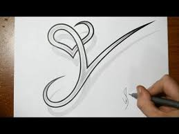 vote no on how to draw combine a letter with a heart a