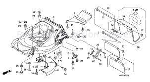 honda hrx 476 hx lawnmower hrx476c hxe masf parts diagram