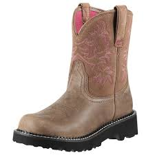womens ariat fatbaby boots size 11 ariat fatbaby original womens brown bomber boot 10000822