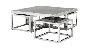 Silver Console Table Coffee Tables Silver Square Coffee Table Tulip Table Silver