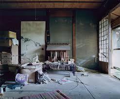 Traditional Japanese Bedroom - izu peninsula inside the japanese holiday resorts left to rot