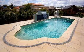 Deep Backyard Pool by Premier Fibreglass Pools