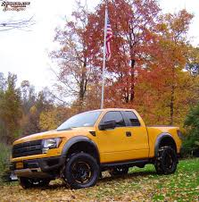 Ford F 150 Yellow Truck - 2014 ford f 150 moto metal mo961 wheels satin black yellow insert