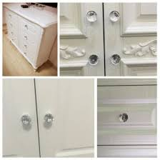 glass kitchen cabinet door pulls shop 12x glass door knobs drawer cabinet furniture