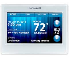 wi fi programmable thermostat wi fi 9000 honeywell