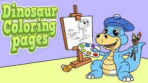 coloring dinosaur coloring pages for kids jurassic park coloring