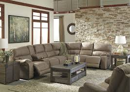 Rocker Recliner Loveseat Spiller Furniture U0026 Mattress Bohannon Taupe Left Facing Sectional