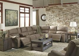 spiller furniture u0026 mattress bohannon taupe left facing sectional