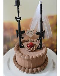army wedding cake toppers here s a great price on machine gun weapon wedding cake topper