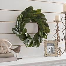 magnolia leaf wreath 24 in kirklands