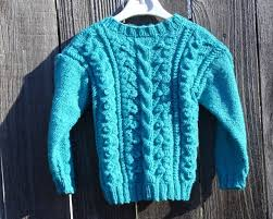 knitted sweater blue sweater for knit sweater size 2 3 years